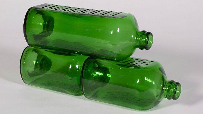 Бутылочные кирпичи
